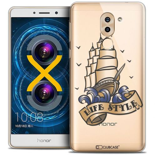 Coque Crystal Gel Huawei Honor 6X Extra Fine Tatoo Lover - Life Style