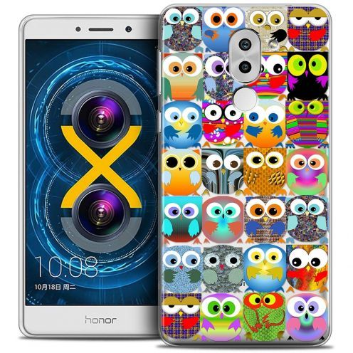 Coque Crystal Gel Huawei Honor 6X Extra Fine Claude - Hibous