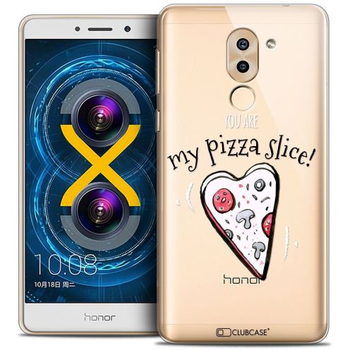 Coque Crystal Gel Huawei Honor 6X Extra Fine Love - My Pizza Slice