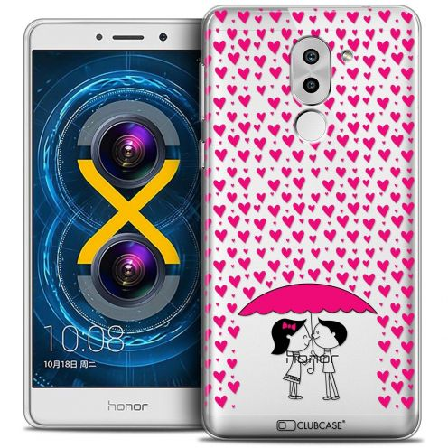 Coque Crystal Gel Huawei Honor 6X Extra Fine Love - Parapluie d'Amour
