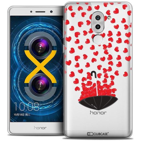 Coque Crystal Gel Huawei Honor 6X Extra Fine Love - Pluie d'Amour