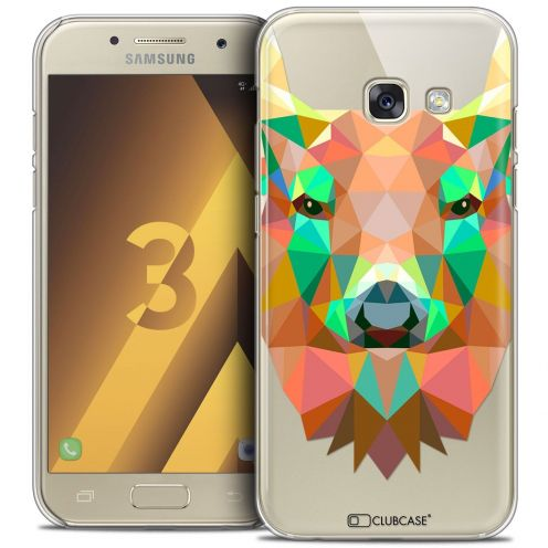 Coque Crystal Samsung Galaxy A3 2017 (A320) Extra Fine Polygon Animals - Cerf