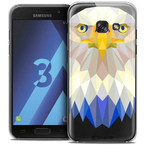 Coque Crystal Samsung Galaxy A3 2017 (A320) Extra Fine Polygon Animals - Aigle