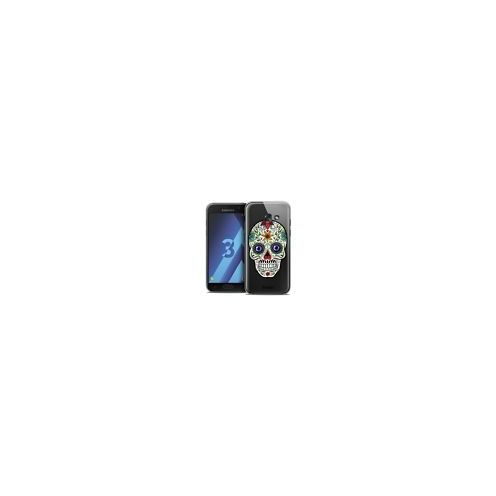 Coque Crystal Samsung Galaxy A3 2017 (A320) Extra Fine Skull - Maria's Flower