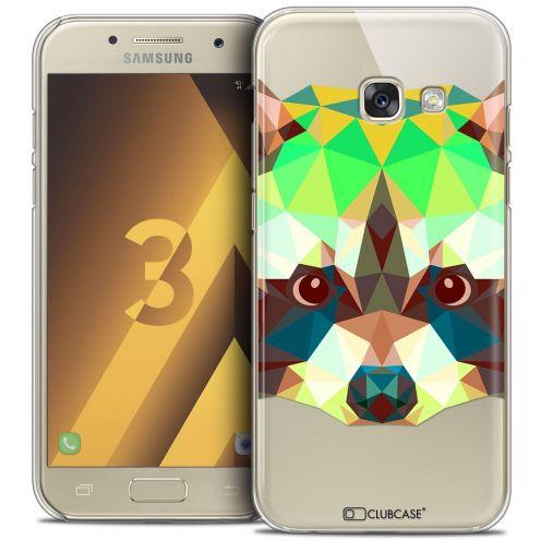 Coque Crystal Samsung Galaxy A3 2017 (A320) Extra Fine Polygon Animals - Raton Laveur