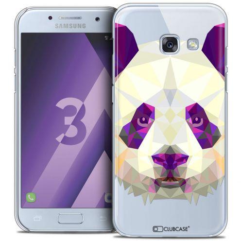 Coque Crystal Samsung Galaxy A3 2017 (A320) Extra Fine Polygon Animals - Panda