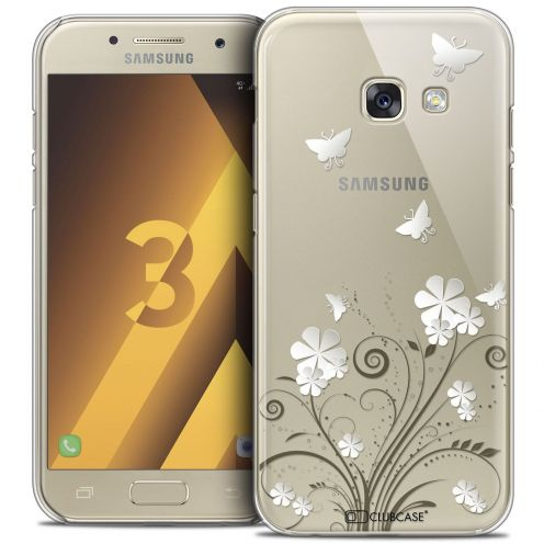 Coque Crystal Samsung Galaxy A3 2017 (A320) Extra Fine Summer - Papillons
