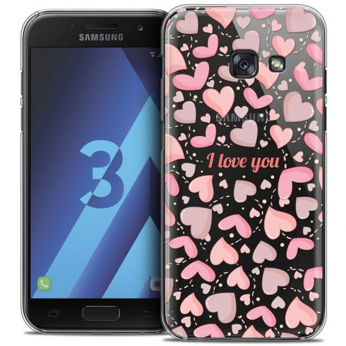 Coque Crystal Samsung Galaxy A3 2017 (A320) Extra Fine Love - I Love You