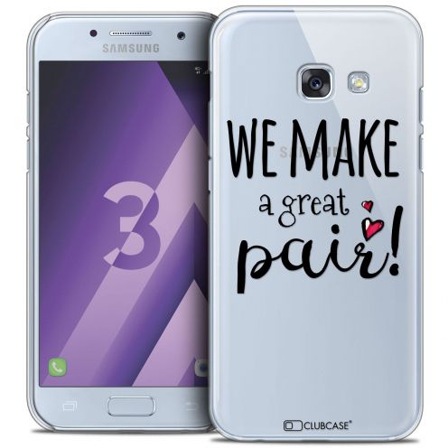 Coque Crystal Samsung Galaxy A3 2017 (A320) Extra Fine Love - We Make Great Pair
