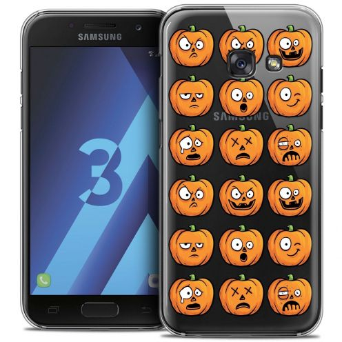 Coque Crystal Samsung Galaxy A3 2017 (A320) Extra Fine Halloween - Cartoon Citrouille
