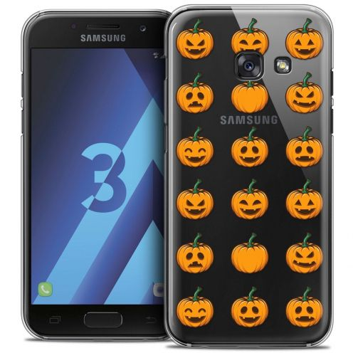 Coque Crystal Samsung Galaxy A3 2017 (A320) Extra Fine Halloween - Smiley Citrouille