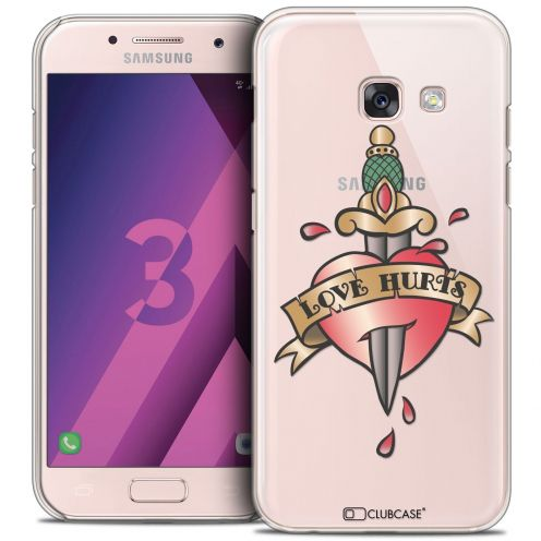 Coque Crystal Samsung Galaxy A3 2017 (A320) Extra Fine Tatoo Lover - Love Hurts