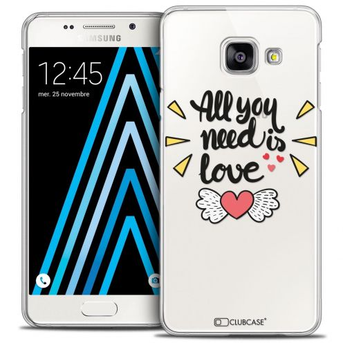Coque Crystal Samsung Galaxy A3 2016 (A310) Extra Fine Love - All U Need Is