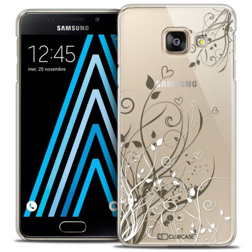 Coque Crystal Samsung Galaxy A3 2016 (A310) Extra Fine Love - Hearts Flowers