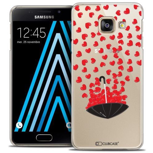 Coque Crystal Samsung Galaxy A3 2016 (A310) Extra Fine Love - Parapluie d'Amour