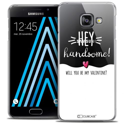 Coque Crystal Samsung Galaxy A3 2016 (A310) Extra Fine Love - Hey Handsome !