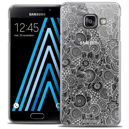 Coque Crystal Samsung Galaxy A3 2016 (A310) Extra Fine Dentelle Florale - Blanc