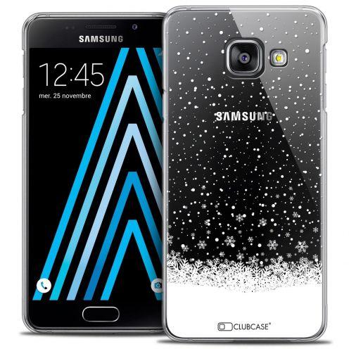 Coque Crystal Samsung Galaxy A3 2016 (A310) Extra Fine Noël 2016 - Flocons de Neige