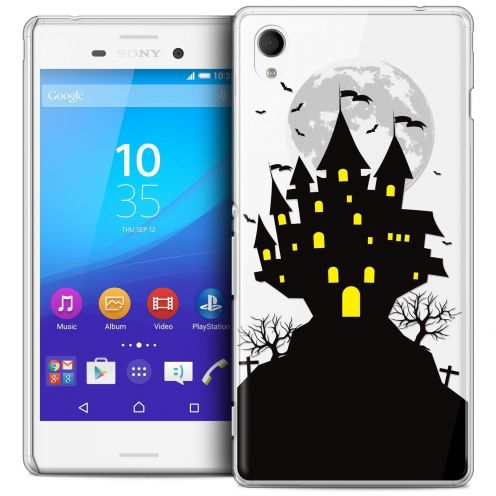 Coque Crystal Sony Xperia M4 Aqua Extra Fine Halloween - Castle Scream