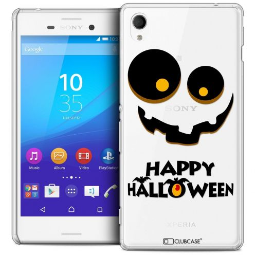 Coque Crystal Sony Xperia M4 Aqua Extra Fine Halloween - Happy