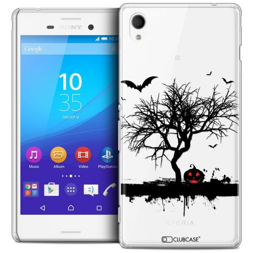 Coque Crystal Sony Xperia M4 Aqua Extra Fine Halloween - Devil's Tree