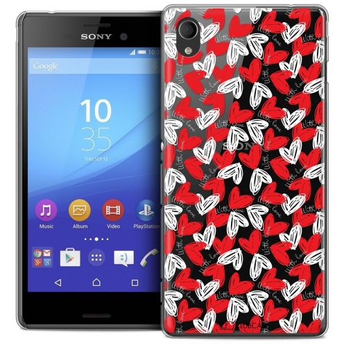 Coque Crystal Sony Xperia M4 Aqua Extra Fine Love - With Love