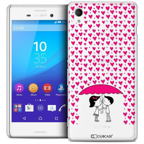 Coque Crystal Sony Xperia M4 Aqua Extra Fine Love - Pluie d'Amour