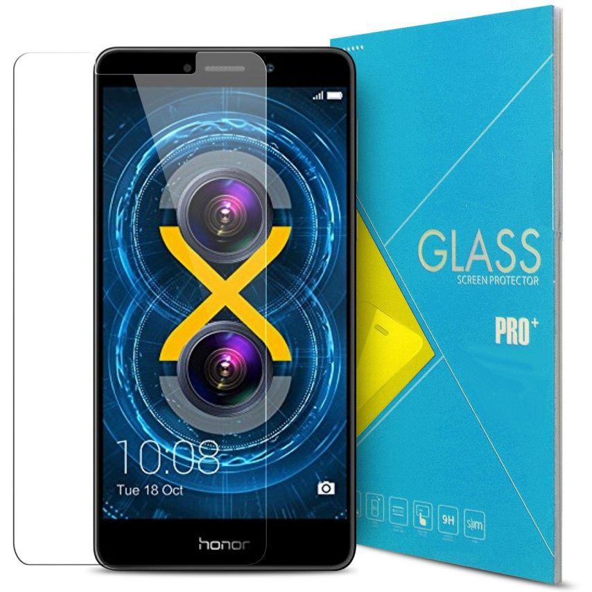 Protection d'écran Verre trempé Huawei Honor 6X - 9H Glass Pro+ HD 0.33mm 2.5D