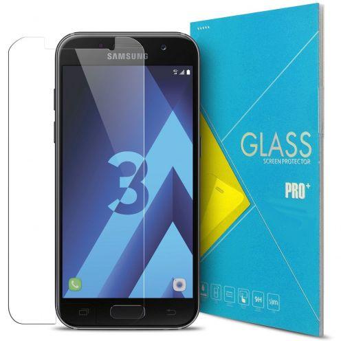 Protection d'écran Verre trempé Samsung Galaxy A3 2017 (A320) - 9H Glass Pro+ HD 0.33mm 2.5D