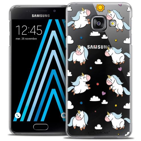 Coque Crystal Samsung Galaxy A3 2016 (A310) Extra Fine Fantasia - Licorne In the Sky