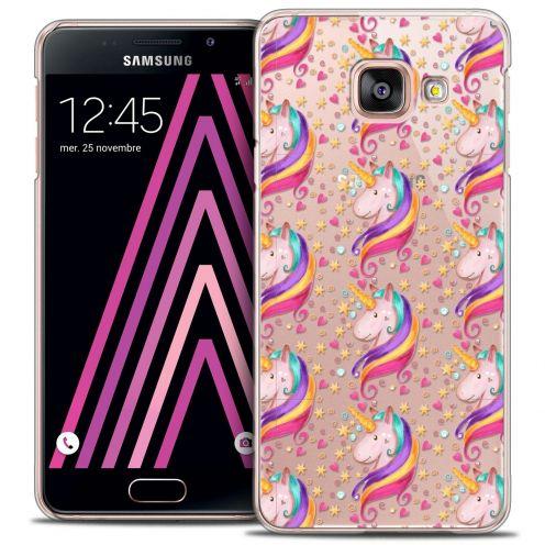 Coque Crystal Samsung Galaxy A3 2016 (A310) Extra Fine Fantasia - Licorne Etoilée