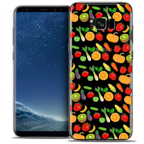Coque Crystal Gel Samsung Galaxy S8 (G950) Extra Fine Foodie - Healthy