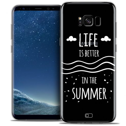 Coque Crystal Gel Samsung Galaxy S8 (G950) Extra Fine Summer - Life's Better