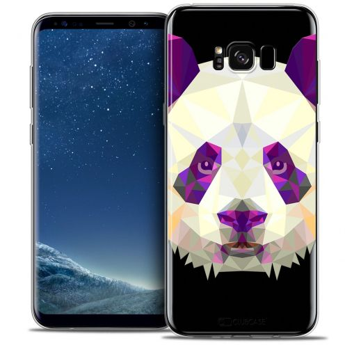 Coque Crystal Gel Samsung Galaxy S8 (G950) Extra Fine Polygon Animals - Panda