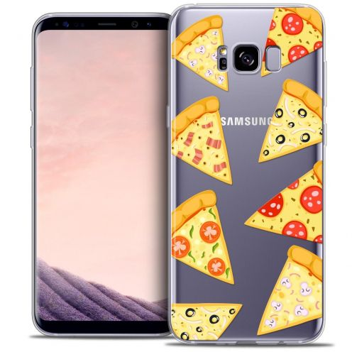 Coque Crystal Gel Samsung Galaxy S8 (G950) Extra Fine Foodie - Pizza