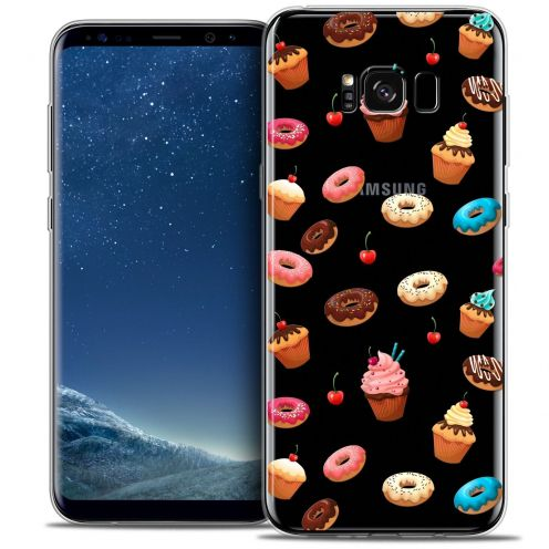 Coque Crystal Gel Samsung Galaxy S8 (G950) Extra Fine Foodie - Donuts