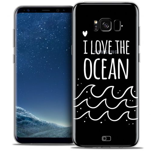 Coque Crystal Gel Samsung Galaxy S8 (G950) Extra Fine Summer - I Love Ocean