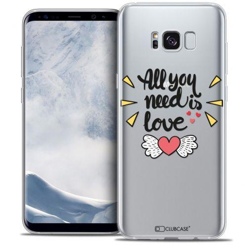 Coque Crystal Gel Samsung Galaxy S8 (G950) Extra Fine Love - All U Need Is