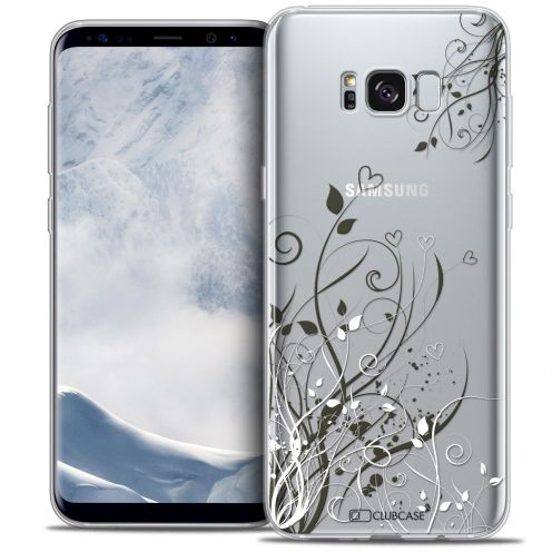 Coque Crystal Gel Samsung Galaxy S8 (G950) Extra Fine Love - Hearts Flowers