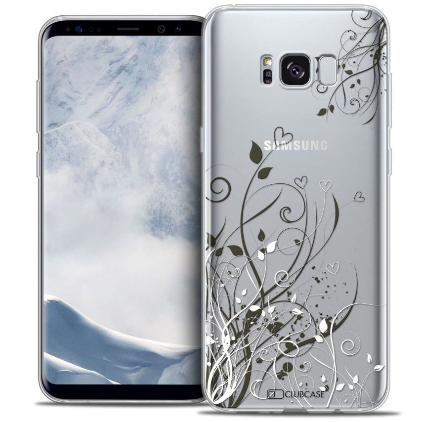 Coque Crystal Gel Samsung Galaxy S8 (G950) Extra Fine Love - Hearts Flowers