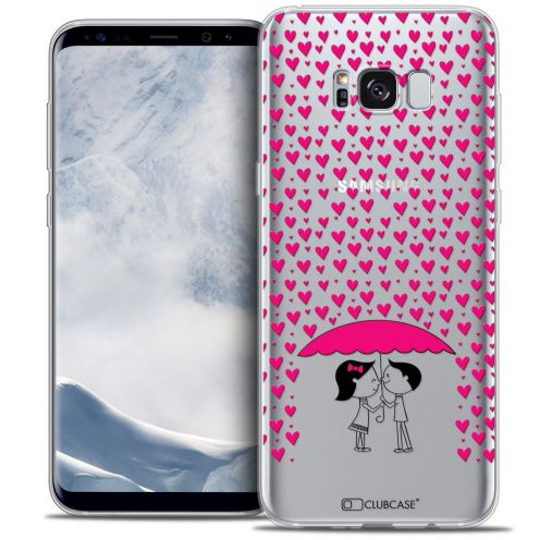 Coque Crystal Gel Samsung Galaxy S8 (G950) Extra Fine Love - Pluie d'Amour