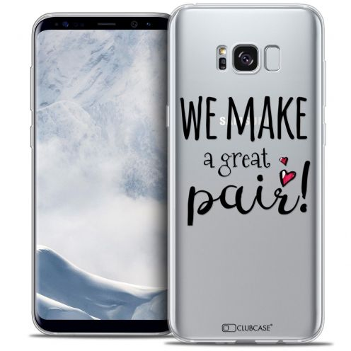 Coque Crystal Gel Samsung Galaxy S8 (G950) Extra Fine Love - We Make Great Pair