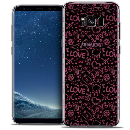 Coque Crystal Gel Samsung Galaxy S8 (G950) Extra Fine Love - Doodle