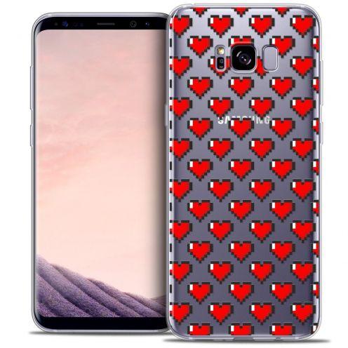 Coque Crystal Gel Samsung Galaxy S8 (G950) Extra Fine Love - Pixel Art