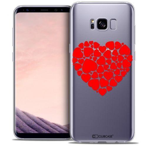 Coque Crystal Gel Samsung Galaxy S8 (G950) Extra Fine Love - Coeur des Coeurs