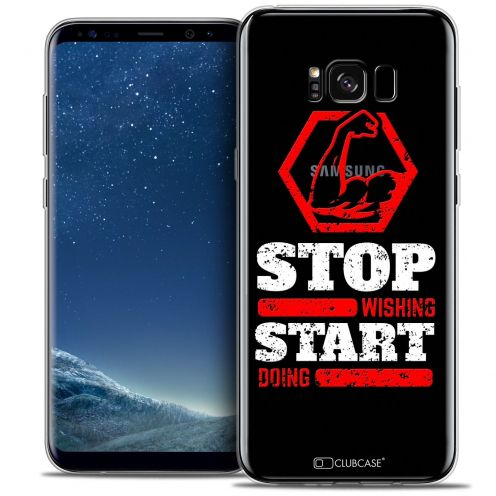 Coque Crystal Gel Samsung Galaxy S8 (G950) Extra Fine Quote - Start Doing
