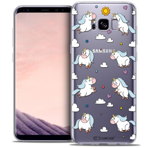 Coque Crystal Gel Samsung Galaxy S8 (G950) Extra Fine Fantasia - Licorne In the Sky