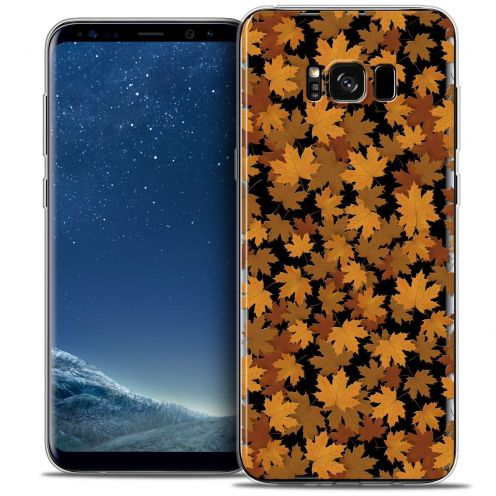 Coque Crystal Gel Samsung Galaxy S8 (G950) Extra Fine Autumn 16 - Feuilles