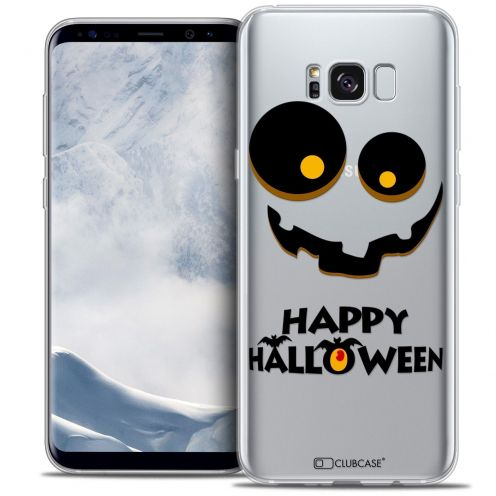 Coque Crystal Gel Samsung Galaxy S8 (G950) Extra Fine Halloween - Happy