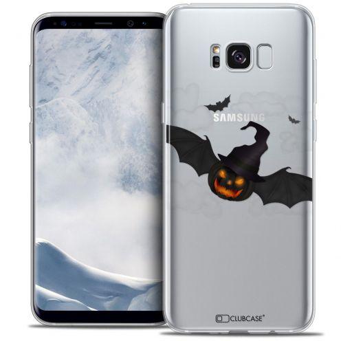 Coque Crystal Gel Samsung Galaxy S8 (G950) Extra Fine Halloween - Chauve Citrouille